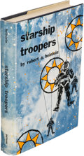 Books:Science Fiction & Fantasy, Robert A. Heinlein. Starship Troopers. New York: G. P. Putnam's Sons, [1959]. First edition, first printing (as per ...