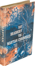 Books:Science Fiction & Fantasy, Ray Bradbury. The Martian Chronicles. New York: Doubleday& Company, Inc., 1950. First edition in the first state gr...