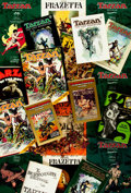 Books:Science Fiction & Fantasy, [Edgar Rice Burroughs]. Group of Nineteen Burroughs Related Items. Various publishers and dates. ...