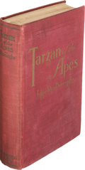 Books:Fiction, Edgar Rice Burroughs. Tarzan of the Apes. Chicago: A. C.McClurg, 1914. First edition. In the first issue cloth....