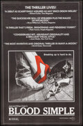 "Movie Posters:Thriller, Blood Simple (Circle Films, 1984). One Sheet (24"" X 36.5"").Thriller.. ..."