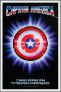 """Movie Posters:Action, Captain America (Columbia/Tristar, 1991). One Sheet (27"""" X 41"""") SSAdvance. Action.. ..."""