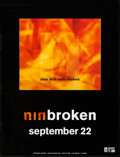 "Movie Posters:Rock and Roll, Nine Inch Nails: Broken (Interscope, 1992). EP Poster (24"" X 31.25"") Advance. Rock and Roll.. ..."