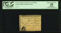 Colonial Notes:North Carolina, North Carolina April 2, 1776 $1/2 Crow and Pitcher PCGS ApparentChoice About New 58.. ...