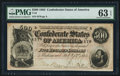 Confederate Notes:1864 Issues, T64 $500 1864 PF-2 Cr 489.. ...