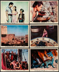 """Movie Posters:Fantasy, The 7th Voyage of Sinbad (Columbia, 1958). British Front of HouseColor Photos (11) (8"""" X 10""""). Fantasy.. ... (Total: 11 Items)"""
