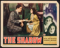 "Movie Posters:Mystery, The Shadow (Columbia, 1937). Lobby Card (11"" X 14""). Mystery.. ..."