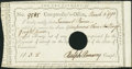 Colonial Notes:Connecticut, State of Connecticut Interest Certificate Mar. 5, 1790 Extremely Fine-About New, POC.. ...