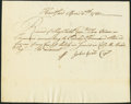 Colonial Notes:Connecticut, Connecticut Pay Table Committee Certificate 12,000 Pounds ExtremelyFine.. ...