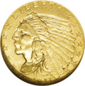 Indian Quarter Eagles: , 1911-D $2 1/2 MS62 NGC. Scarce in all grades and especially so in Mint State grades, this popular D-mint issue commands eag...