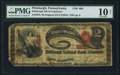 National Bank Notes:Pennsylvania, Pittsburgh, PA - $2 Original Fr. 387b The Pittsburgh NB of Commerce Ch. # 668. ...