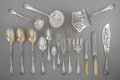 Silver Flatware, French:Flatware, A Hundred-and-Twenty-Nine Piece Ernest Cardeilhac Silver FlatwareService for Twelve, Paris, France, circa 1880. Marks: (Min...(Total: 129 )