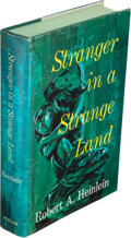 Books:Science Fiction & Fantasy, Robert A. Heinlein. Stranger in a Strange Land. New York: G. P. Putnam's Sons, [1961]. First edition, first printing...
