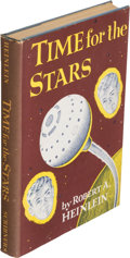 Books:Science Fiction & Fantasy, Robert A. Heinlein. Time for the Stars. New York: CharlesScribner's Sons, [1956]. First edition....