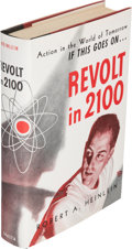 Books:Science Fiction & Fantasy, Robert A. Heinlein. Revolt in 2100. Chicago: ShastaPublishers, [1953]. First edition, one of an undetermined number...