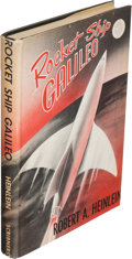 Books:Science Fiction & Fantasy, Robert A. Heinlein. Rocket Ship Galileo. New York: CharlesScribner's Sons, [1947]. First edition....