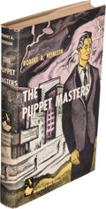 Books:Science Fiction & Fantasy, Robert A. Heinlein. The Puppet Masters. Garden City:Doubleday & Company, 1951. First edition....