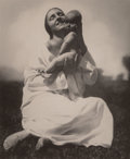 Photographs, Rudolf Koppitz (Austrian, 1884-1936). Mother and Child, Vienna, 1927. Gelatin silver carte postale. 4-1/2 x 3-3/4 inches...