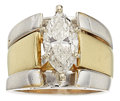 Estate Jewelry:Rings, Diamond, Gold Ring Set. ... (Total: 2 Items)