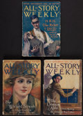 Books:Science Fiction & Fantasy, Edgar Rice Burroughs. H. R. H. the Rider. In All-StoryWeekly. New York: 1928. Complete in three weekly issues....(Total: 3 )