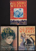 Books:Science Fiction & Fantasy, Edgar Rice Burroughs. The Lad and the Lion. In All-StoryWeekly. New York: 1917. Complete in three w... (Total: 3 )