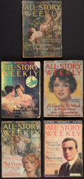 Books:Science Fiction & Fantasy, Edgar Rice Burroughs. Tarzan and the Jewels of Opar. In All-Story Weekly. New York: 1916. Complete in fi... (Total: 5 Items)