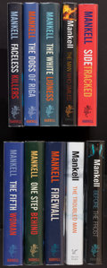 Books:Mystery & Detective Fiction, Henning Mankell. The Complete Wallander Novels. London: 2000-2005.First English editions, eight signed by the author.... (Total: 10Items)