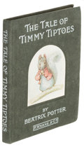 Books:Children's Books, Beatrix Potter. The Tale of Timmy Tiptoes. London: Warne,1911. First edition.. ...
