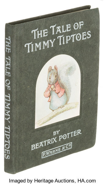 Beatrix Potter The Tale Of Timmy Tiptoes London Warne 1911