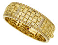 Estate Jewelry:Bracelets, Diamond, Gold Bracelet, Roberto Coin. ...