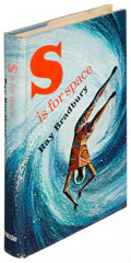 Books:Science Fiction & Fantasy, Ray Bradbury. S Is for Space. New York: 1966. First edition with whimsical inscription by Bradbury....
