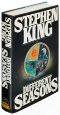 Books:Horror & Supernatural, Stephen King. Different Seasons. New York: [1982]. Firsttrade edition, inscribed by King to collector Bob O'Malley ...