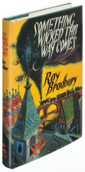 Books:Horror & Supernatural, Ray Bradbury. Something Wicked This Way Comes.Springfield: 1999. Limited, signed by Bradbury and others....