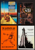 Books:Science Fiction & Fantasy, Ray Bradbury. Four anniversary editions of his major titles.[Various publishers, 1990-1997]. Anniversary editions, two bein...(Total: 4 Items)