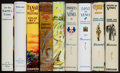 Books:Fiction, Edgar Rice Burroughs. Nine First Editions of Pellucidar andVenus Novels. [Various: 1922-1946]. Four... (Total: 9 Items)