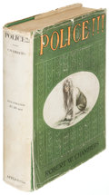 Books:Horror & Supernatural, Robert W. Chambers. Police!!!. New York: 1915. First editionwith signed contract....