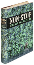 Books:Science Fiction & Fantasy, Brian W. Aldiss. Non-Stop. London: [1958]. First edition....