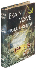 Books:Science Fiction & Fantasy, Poul Anderson. Brain Wave. London: [1955]. First Britishedition....