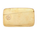 Estate Jewelry:Other , Art Deco Gold Card Case. ...