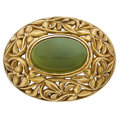 Estate Jewelry:Brooches - Pins, Serpentine, Gold Brooch, Tiffany & Co.. ...