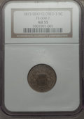 Shield Nickels, 1873 5C Closed 3, Doubled Die Obverse AU55 NGC. FS-008.7. PCGS Population (2/98)....
