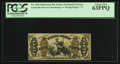 Fractional Currency:Third Issue, Fr. 1360 50¢ Third Issue Justice PCGS Choice New 63PPQ.. ...