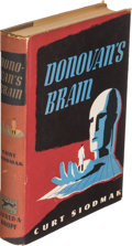 Books:Science Fiction & Fantasy, Curt Siodmak. Donovan's Brain. New York: Alfred A. Knopf,1943. First edition, adhesive label with nice signed inscr...