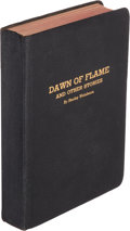 Books:Science Fiction & Fantasy, Stanley G. Weinbaum. Dawn of Flame and Other Stories.[Jamaica, N.Y: Printed by Rupert Printing Service, 1936]. Firs...