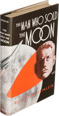 Books:Science Fiction & Fantasy, Robert A. Heinlein. The Man Who Sold the Moon. Chicago:Shasta Publishers, 1950....