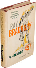 Books:Science Fiction & Fantasy, Ray Bradbury. Fahrenheit 451. New York: Ballantine Books,Inc., [1953]. First edition. Signed and inscribed by Bra...