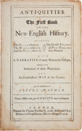 Books:Americana & American History, Cotton Mather. Magnalia Christi Americana: or theEcclesiastical History of New-England from Its First Plantingin...