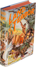 Books:Science Fiction & Fantasy, Edgar Rice Burroughs. Land of Terror. Tarzana, California:Edgar Rice Burroughs Publishers, [1944]. First editio...
