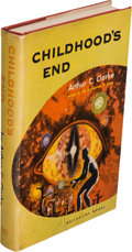 Books:Science Fiction & Fantasy, Arthur C. Clarke. Childhood's End. New York: BallantineBooks, [1953]. First edition....