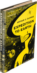 Books:Science Fiction & Fantasy, Arthur C. Clarke. Expedition to Earth. New York: BallantineBooks, [1953]. First edition....